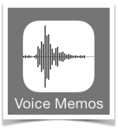 Voice recording on iPhone and transferring audio files to